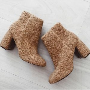 Urban Outfitters Fuzzy Booties